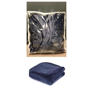 The Vellux Heavy Weight 12 Pound Weighted Navy Blanket