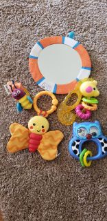 Baby teether lot