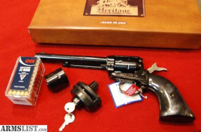 """For Sale/Trade: New Heritage Rough Rider .22 LR and .22 Mag, 6 1/2"""" barrel"""