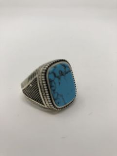 925 Sterling Silver Turquoise Ring