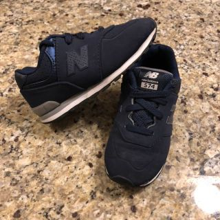 Navy Blue NEW BALANCE NB Athletic Sneaker Shoes Toddler Boy size 10