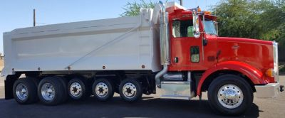Peterbilt Dump Truck: ALL NEW Lift Axles