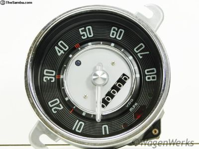 Bug Speedometer 1953 to 1960 date 11-58 Rebuilt