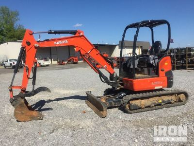 2018 (unverified) Kubota U35-4 Mini Excavator