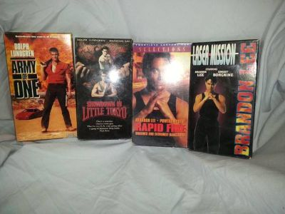 Dolph Lundgren  Brandon Lee, Action VHS