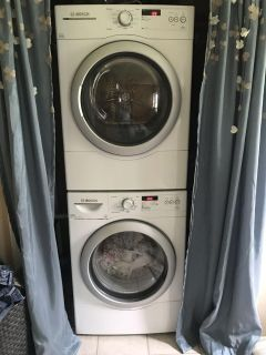Bosch 300 Series Washer and Dryer