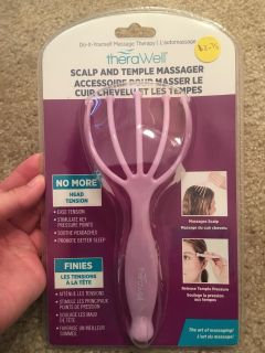 New! theraWell Scalp & Temple Massager