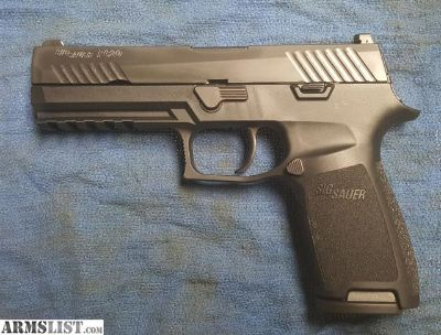 For Sale: SIG SAUER P320 Upgraded