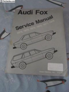 AudiFox/5000Service/MaintnanceManuals: