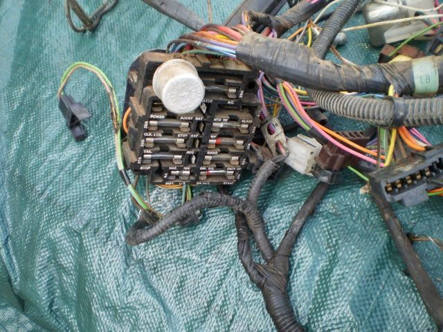 1972 72 Pontiac Gto Lemans Dash Engine Wiring Harness Fuse Box 72 Ac Oem Factory