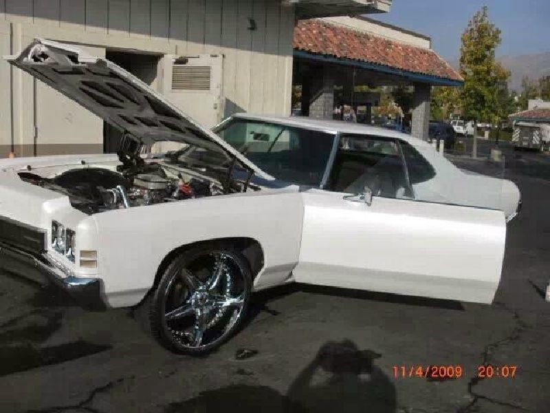 1972 Chevy Impala On 24s Lots Of Upgrades Clazorg