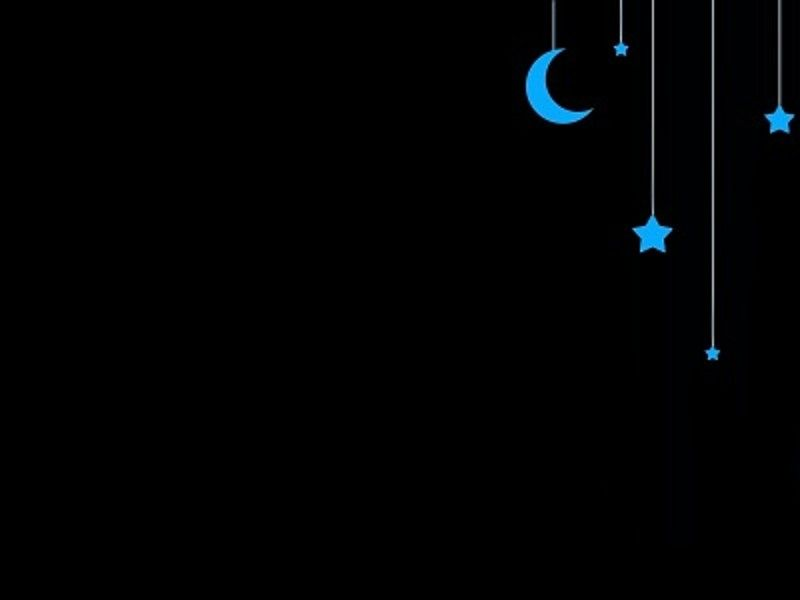 Hanging Blue Moon Stars Wallpapers Downloads Free High Resolution