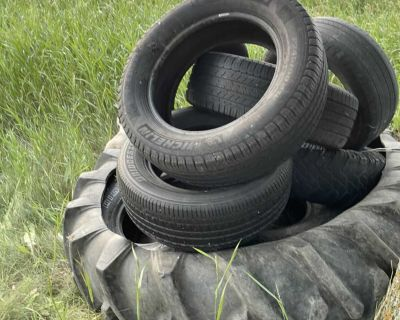 7tires 1 tractor tire
