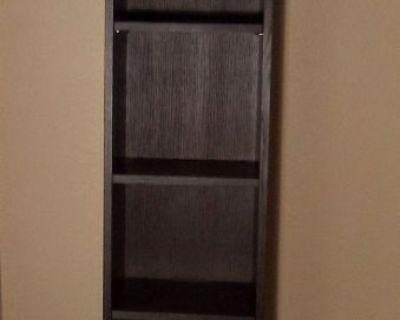 Tall Veneer Mahogany Bookcase