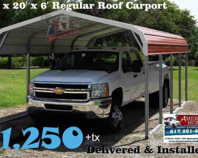 Carports, TruckPorts, RVPorts,.....We've got you covered