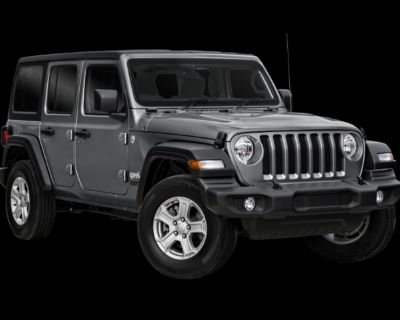 Pre-Owned 2021 Jeep Wrangler Unlimited Willys 4WD