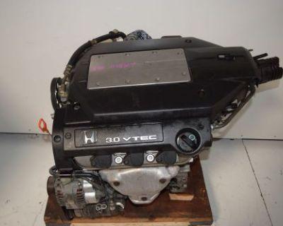Jdm Honda Accord V6 3.0l J30a 2001-2002 Coil Pack Engine 02-03 Acura Cl Engine