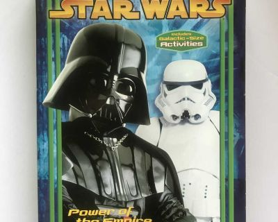 Star Wars Power of the Empire Colouring and Activity Book (2005).