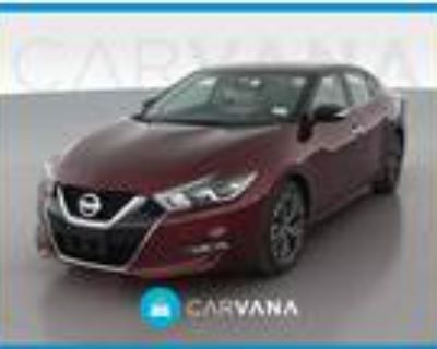 2018 Nissan Maxima Red, 35K miles