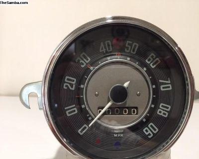 Low Light Speedo Karmann Ghia speedometer