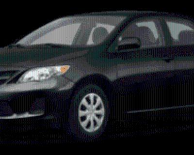 2011 Toyota Corolla L Manual