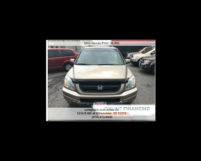 2005 Honda Pilot EX w/ Leather and Navigation