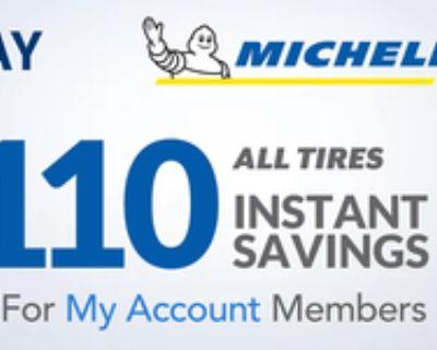 Michelin Tire Sale