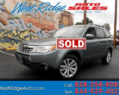 Used 2012 Subaru Forester 4dr Auto 2.5X Limited