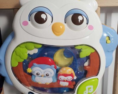 Twinkle & Soothe Owl Projector