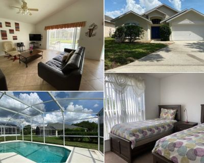 Gated Community - Private Pool - Southern Dunes - Haines City