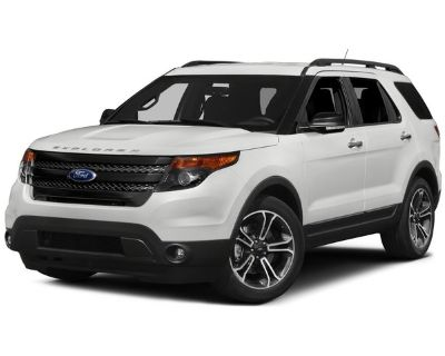 Pre-Owned 2015 Ford Explorer Sport 4WD 4D Sport Utility