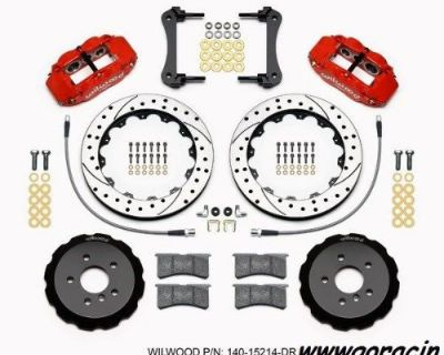 """Wilwood Front Big Brake Kit,with 13"""" Drilled Rotors,fits 2014-2015 Mini Cooper"""