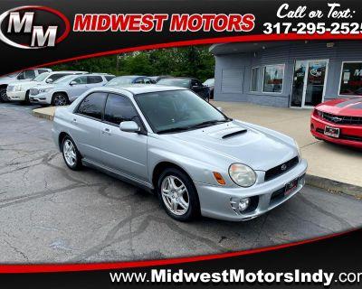 Used 2002 Subaru Impreza Sedan 4dr Sdn WRX Manual