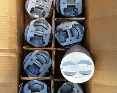 NEW SEALED POWER FORD 9120P .060 over PISTONS SP 302