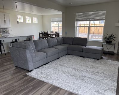 One Room in Newly Built House