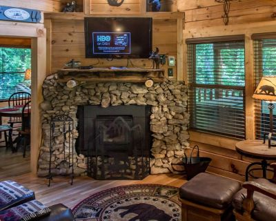 Comfortable cabin with hot tub, fire-pit and seasonal pool access - Pigeon Forge