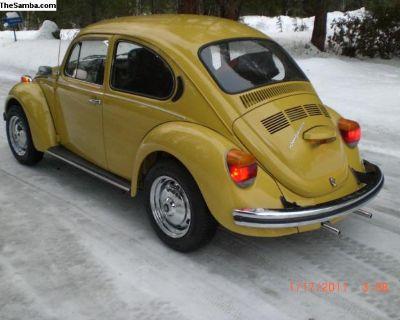 1973 VW Super Beetle Sunroof