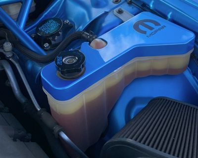 Billet Coolant Reservoir Cover - Available In Different Colors With Engraves Too