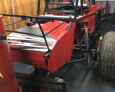 Dirt Modified 2014 Bicknell Rolling Less Motor Seat