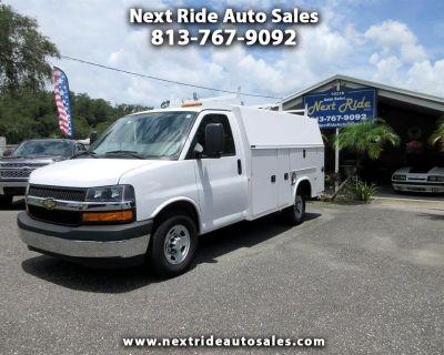 """2018 Chevrolet Express Commercial Cutaway 3500 Van 139"""""""
