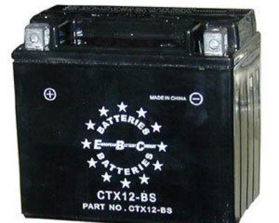 Ytx12-bs Atv Battery For Polaris 200cc Phoenix Sawtooth 2005 Sealed Agm Gel