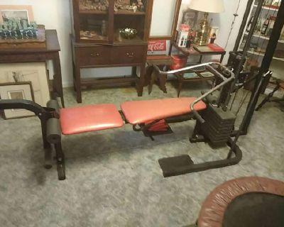 Universal weight bench.