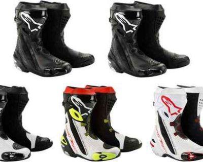 Alpinestars Supertech R Racing/riding/touring Mens Street Motorcycle Boots