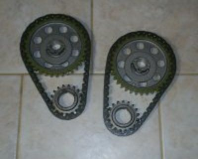 Pair of Vintage 351C Factory/OEM Replacement Timing Chain Sets (351C/351M/400)