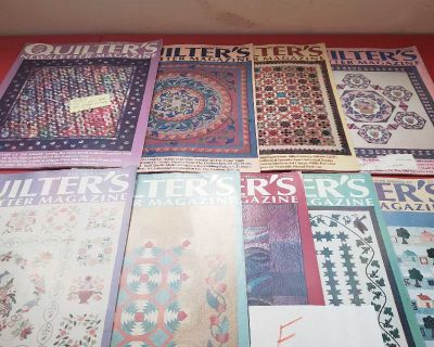 Lot f,quilters newsletter magazine