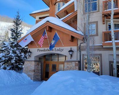 Bright 2 Bedroom Ski in/Ski Out 4th Floor Condo at Powderhorn Lodge - Salt Lake Mountain Resorts
