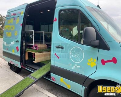 Low Mileage 2019 Mercedes Sprint Van Mobile Dog Gym / Pet Care Truck
