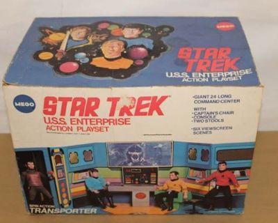 #1404: Star Wars & Star Trek Auction Online