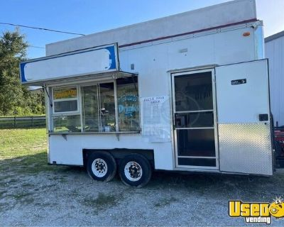 Inspected and Registered Used Street Food Vending Concession Trailer