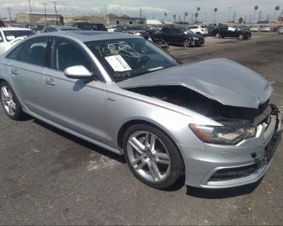 Salvage Silver 2015 Audi A6